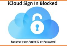 icloud sign in blocked - apple id - icloud id - apple icloud - myappleid - recover apple id
