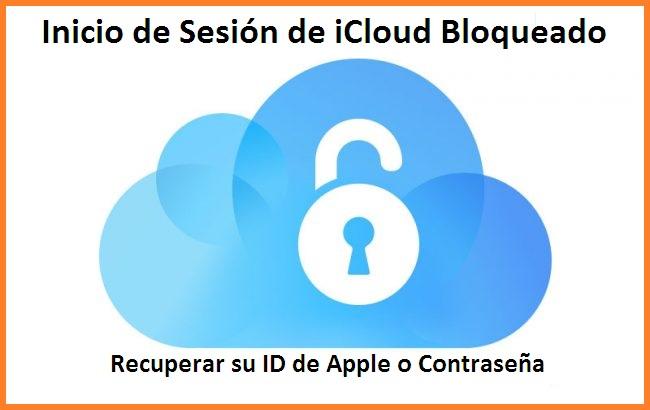 Iniciar Sesión Cuenta iCloud Bloqueada - Apple iD