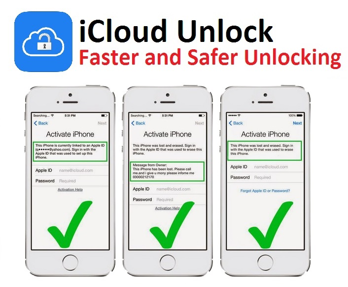 iCloud Unlock - Faster and Safer Unlocking